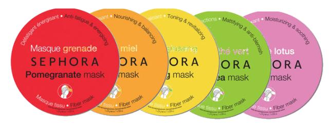 Les masques pour la personne pour enlever les cicatrices